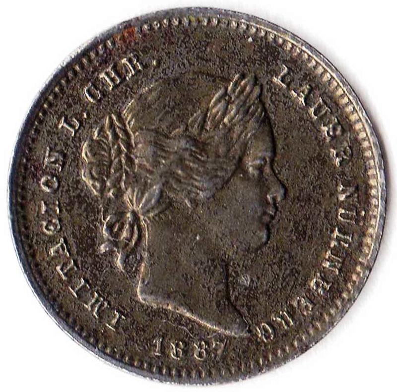 Raro Jeton de Isabel II Reina de España Img90310