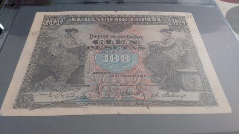 100 pesetas 1906 - falso de época Img_2015
