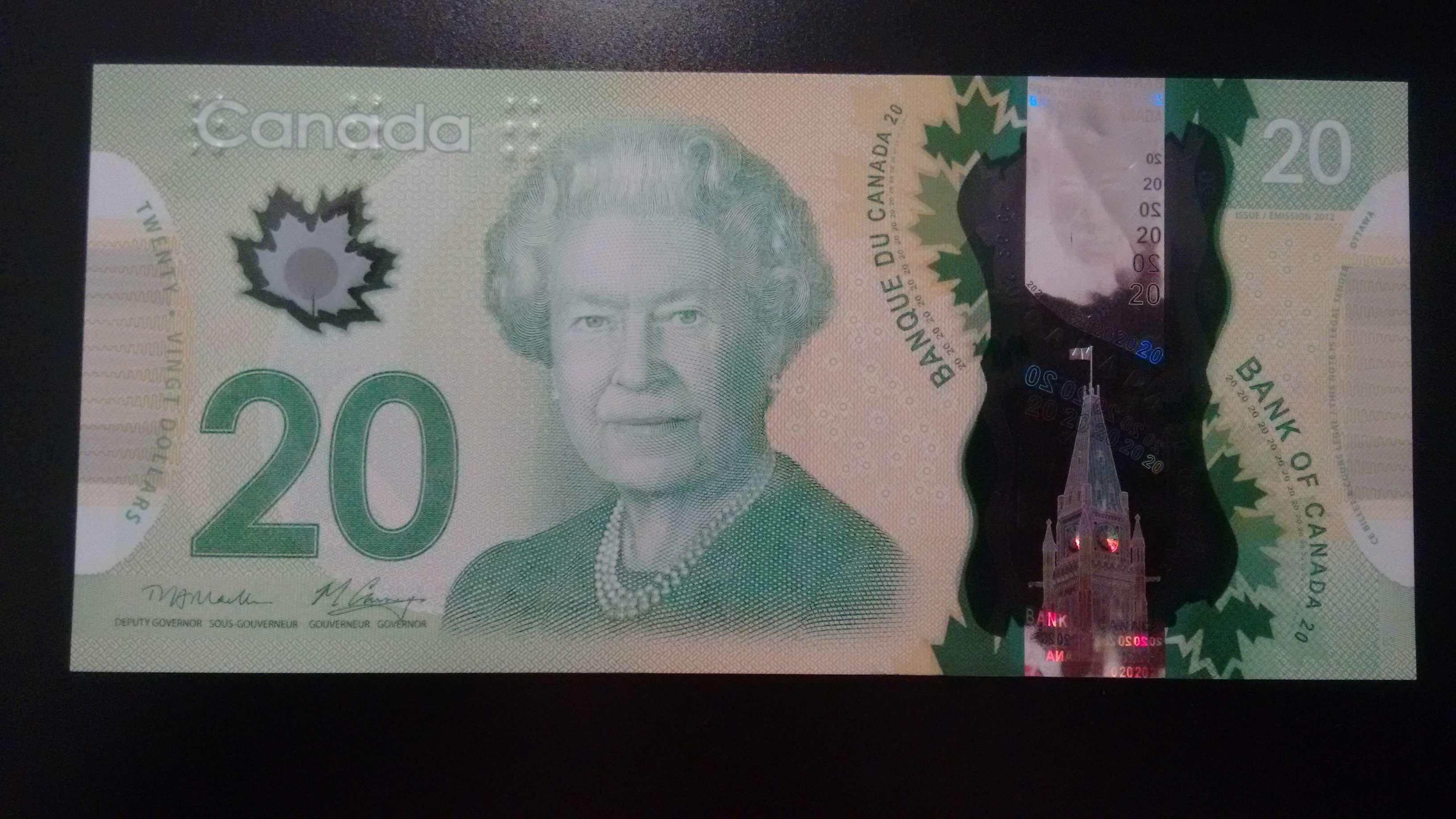 20 Dollars Canadienses Img_2031