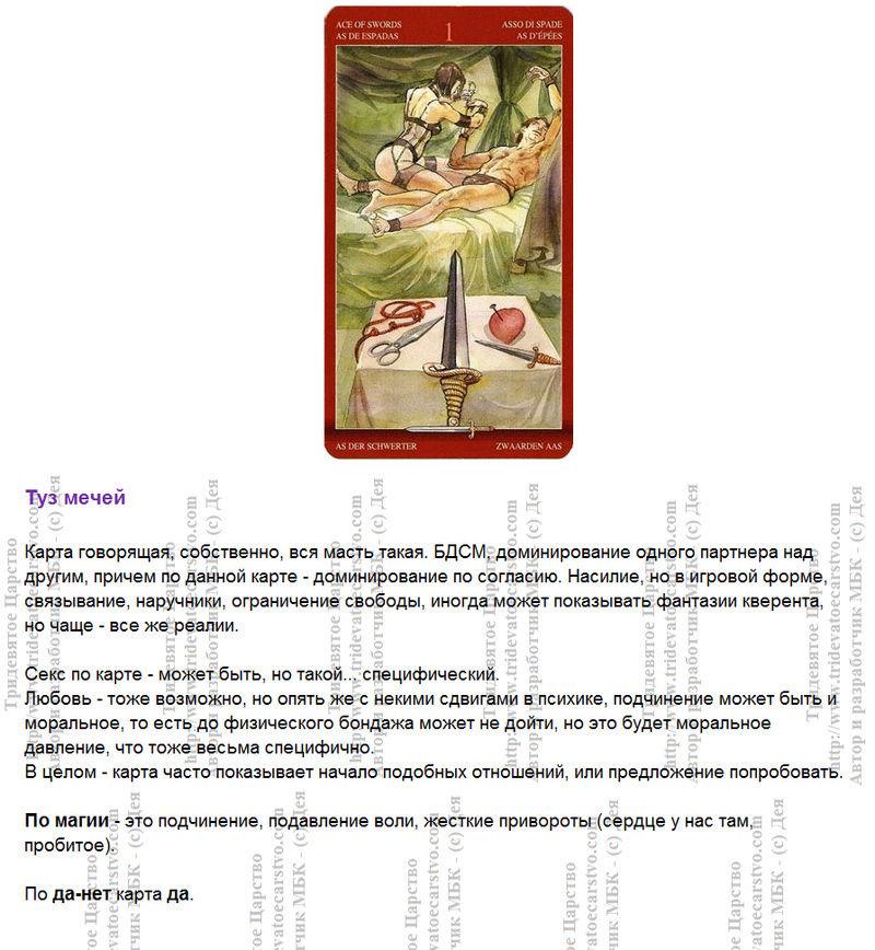 Таро Магия Наслаждений. Трактовка и значение карт. Автор Дэя - Страница 2 112
