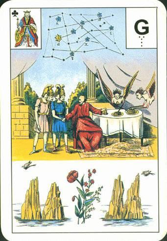 Большая астромифологическая колода Ленорман 21392410