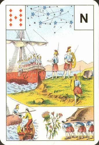 Большая астромифологическая колода Ленорман 4fa15510