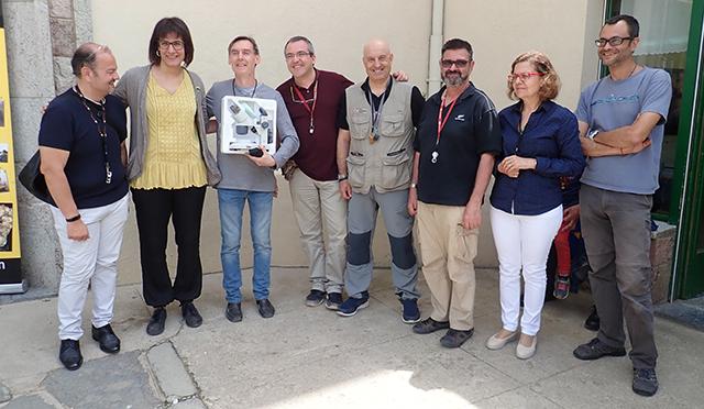 26 i 27 de maig de 2018: III Trobada de Micromineralogia i Sistemàtica Mineral de Camprodon-Rocabruna Campro10