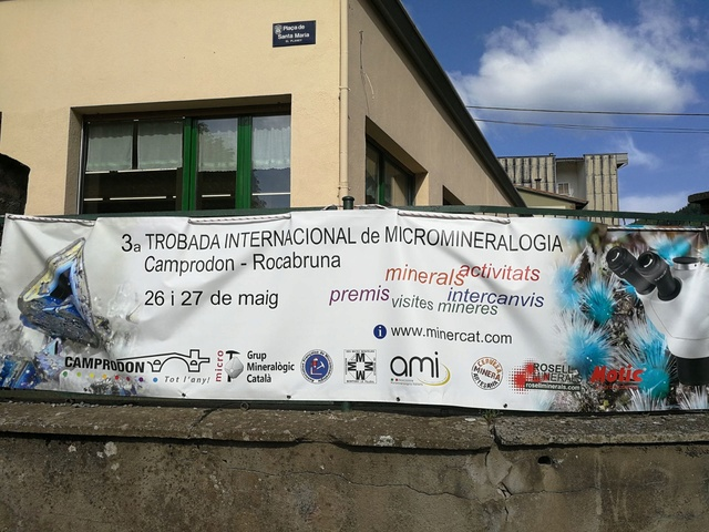 26 i 27 de maig de 2018: III Trobada de Micromineralogia i Sistemàtica Mineral de Camprodon-Rocabruna Whatsa16