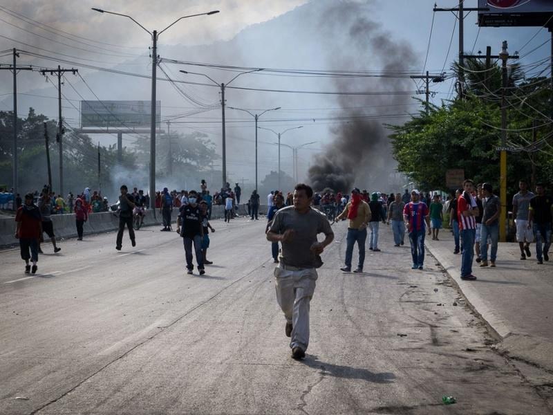 Asesinatos, violaciones y represion , las cualidades que imponen a Juan Hernandez en el poder de la nacion Repres10