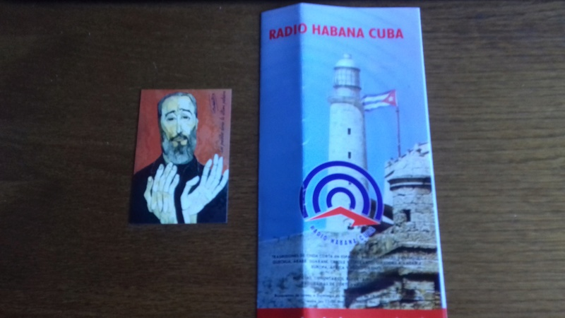 QSL RADIO HABANA CUBA 20171013