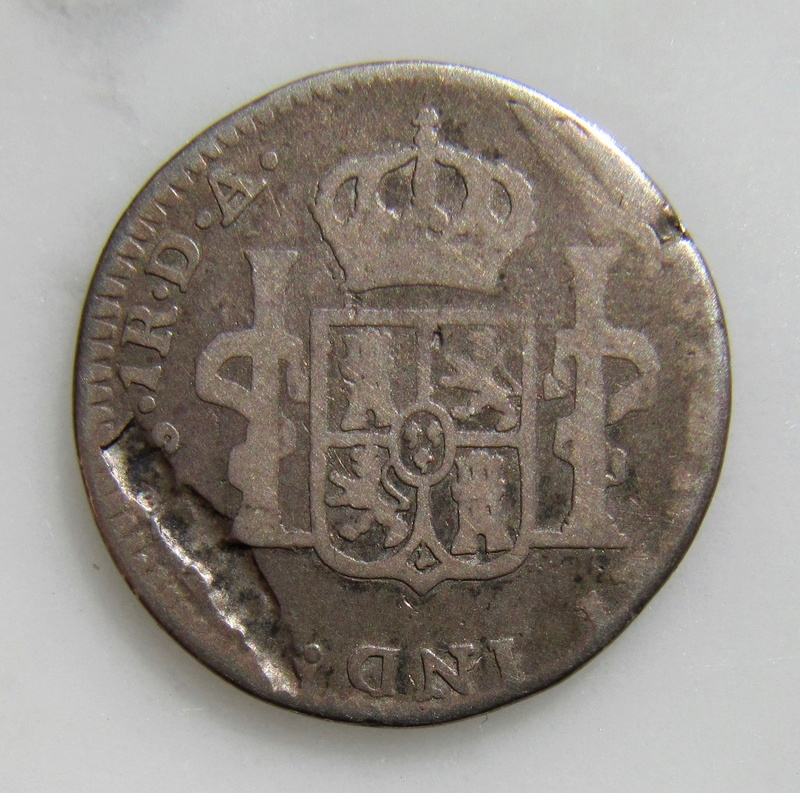 Santiago, Chile, 1 Real 1773  Chile_11