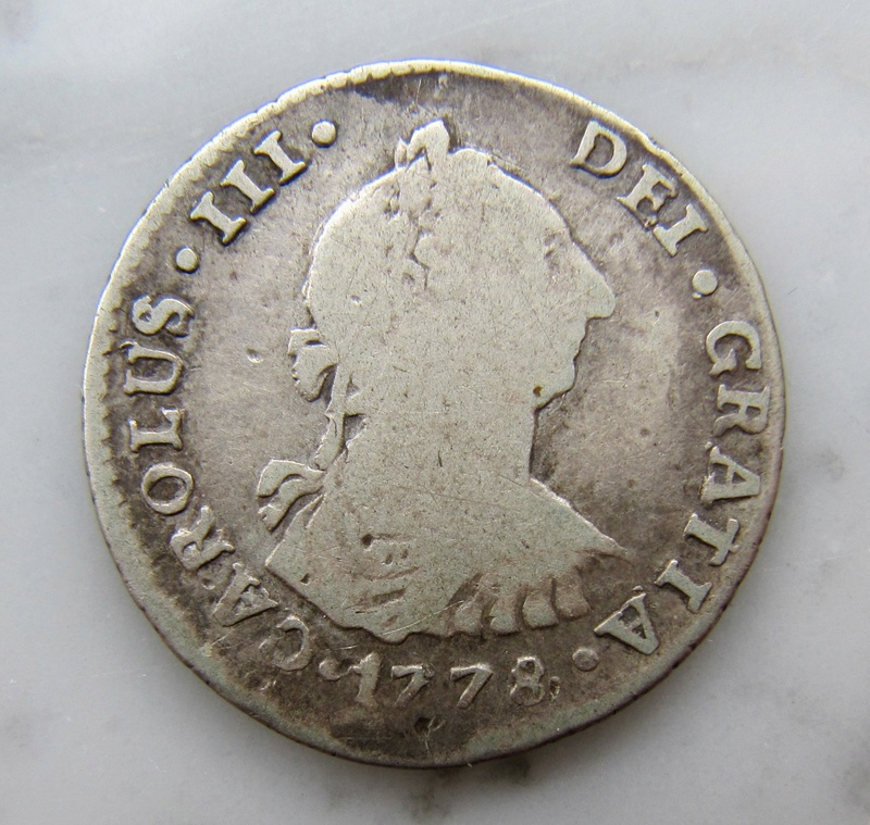 Santiago, Chile, 1 Real 1773  Chile_12