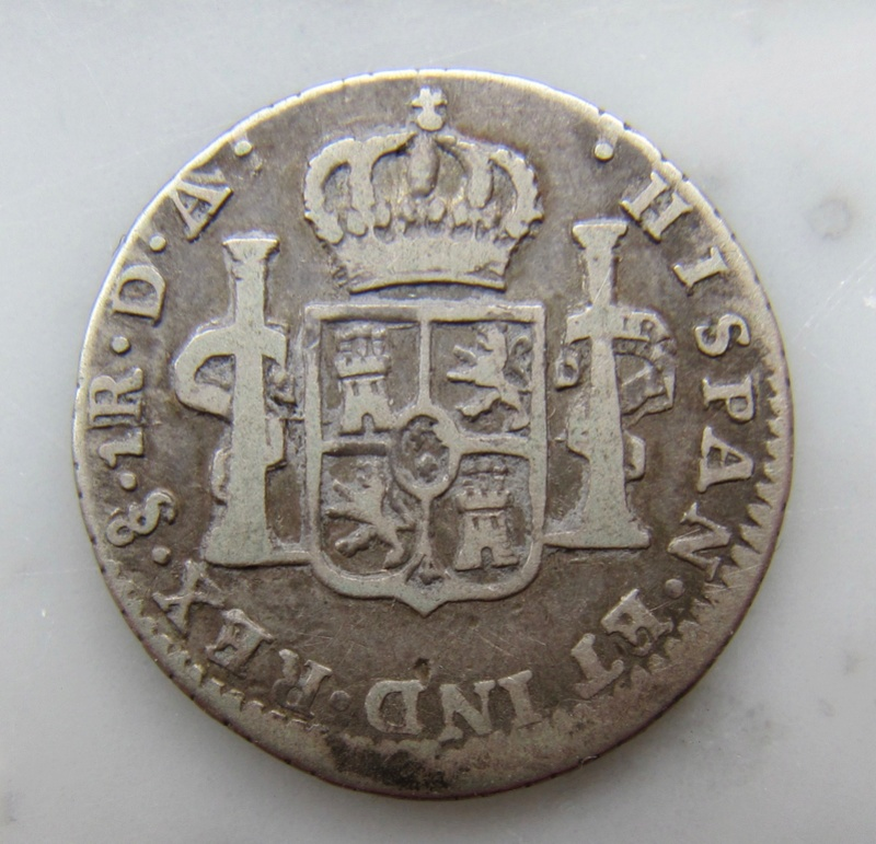 Santiago, Chile, 1 Real 1773  Chile_13