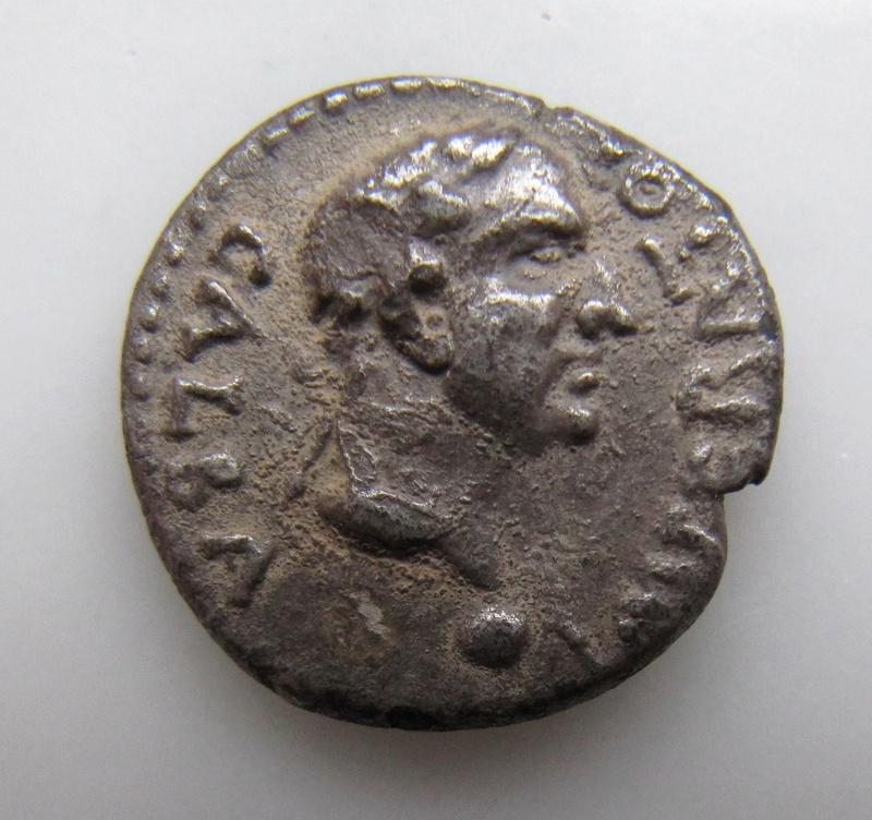Denier de Galba frappé en Hispania - en apparence inédit.  My_gal11