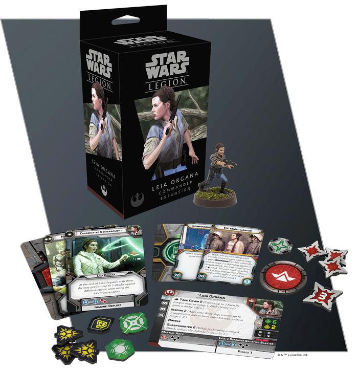 Star Wars Légion Leia10