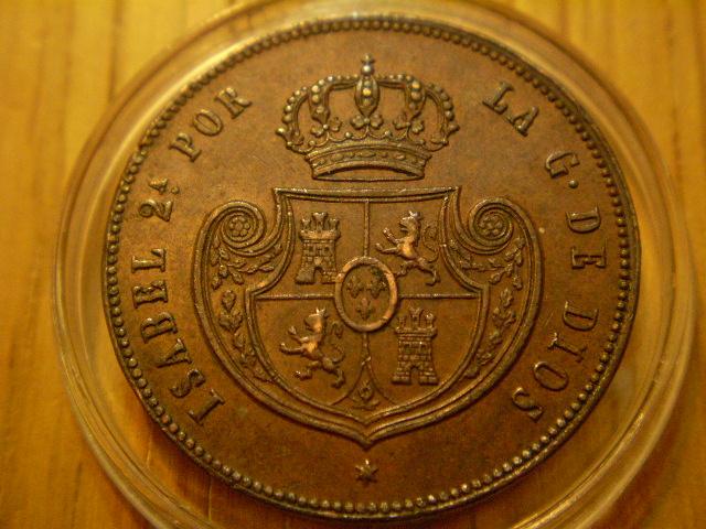 Medio real (Cinco decimas) 1850. Isabel II. Segovia.  Medio_11