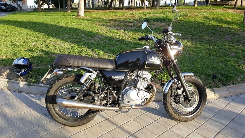 Vendo Mash Black Seven 125 cc 20171013