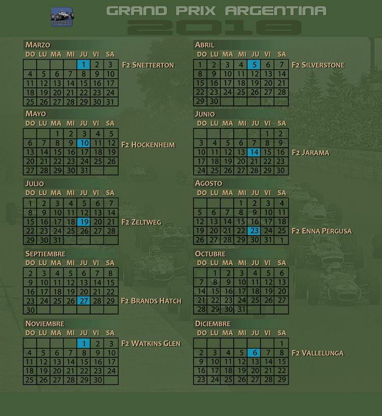 Torneo F2 1967 - 2018 - Inscripción Calend10