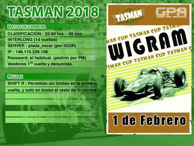 Tasman 2018 - Wigram Tasman12