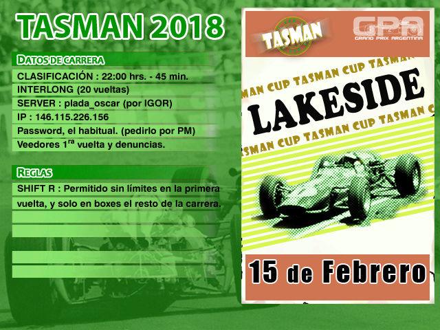 Tasman 2018 - Lakeside Tasman14