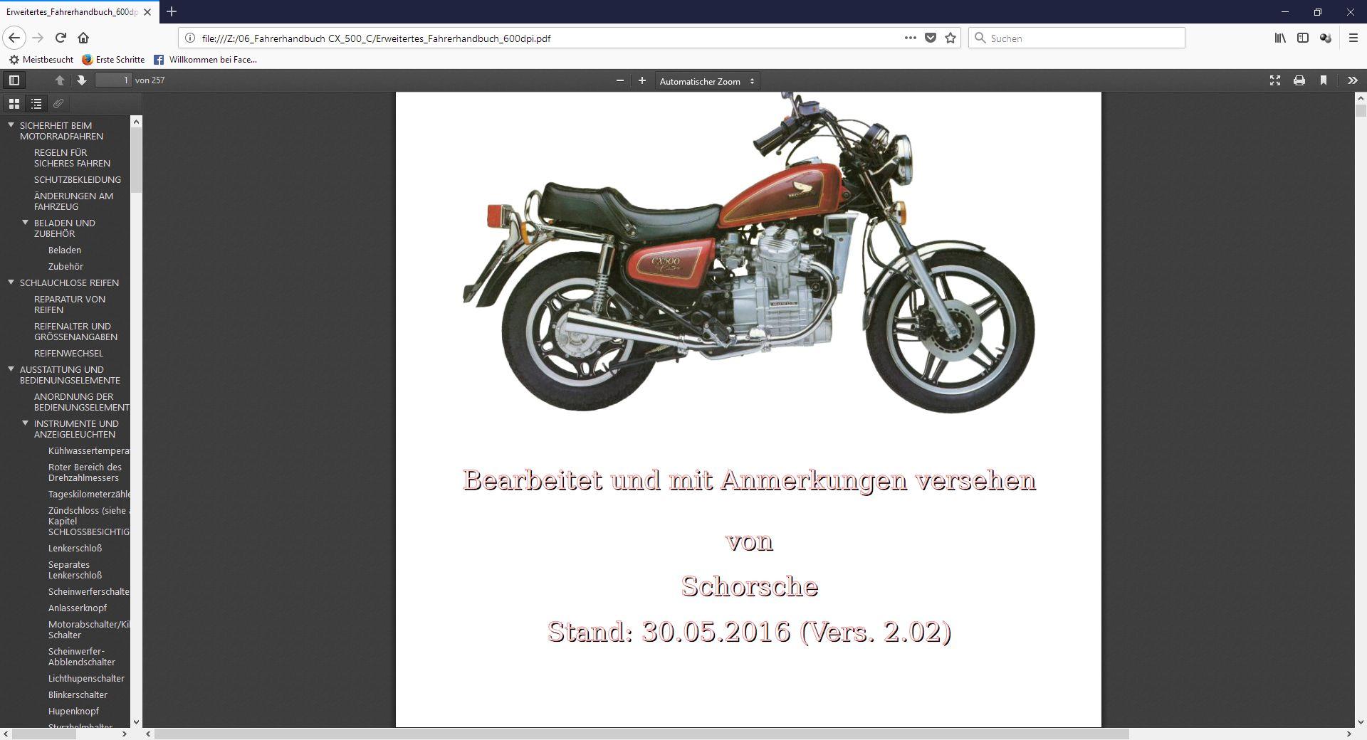 Erweitertes Fahrerhandbuch - Seite 3 Zwisch11