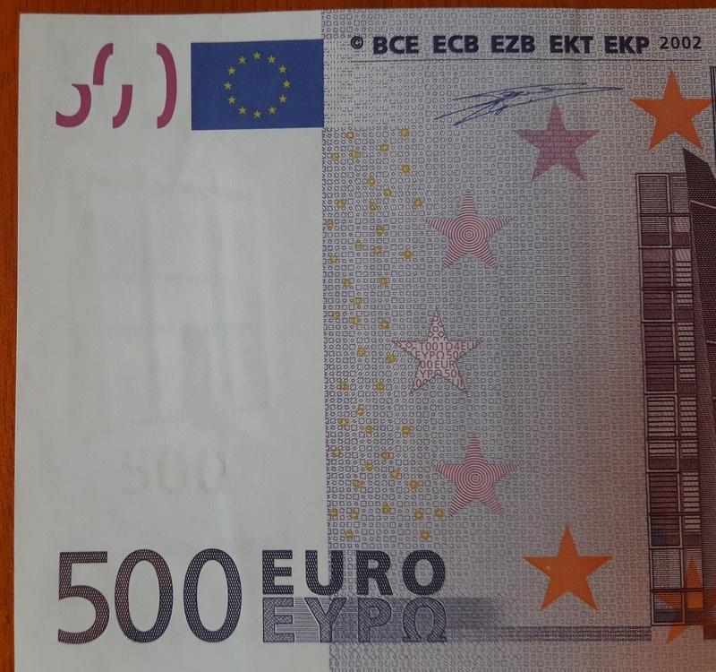 """500€ Serie """"V"""" 20180311"""