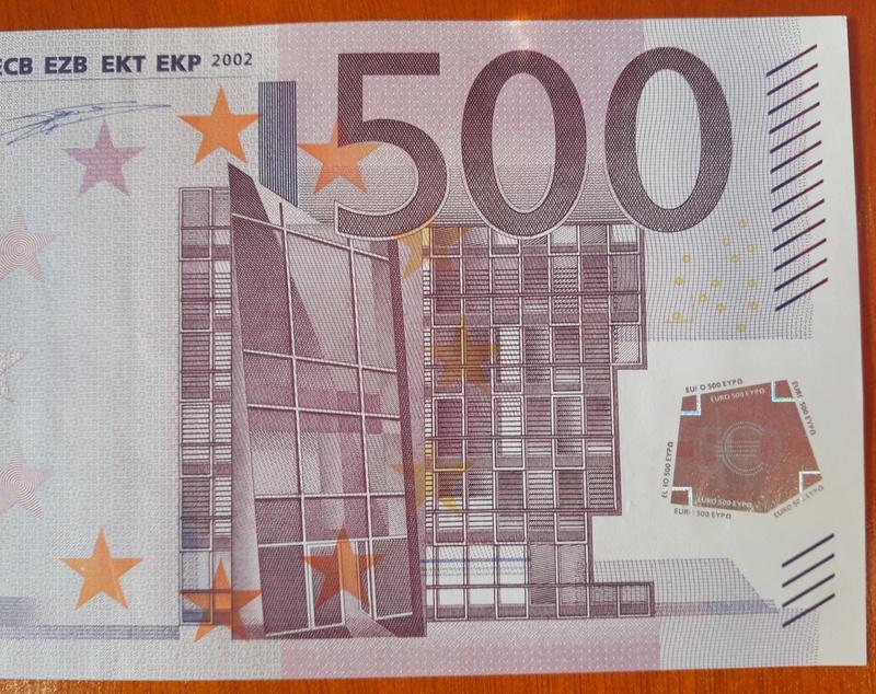 """500€ Serie """"V"""" 20180313"""