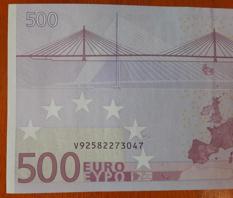 """500€ Serie """"V"""" 20180314"""