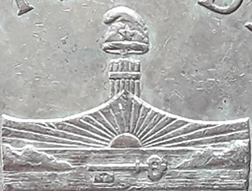 CUBA 1 PESO 1932 Gorro-10