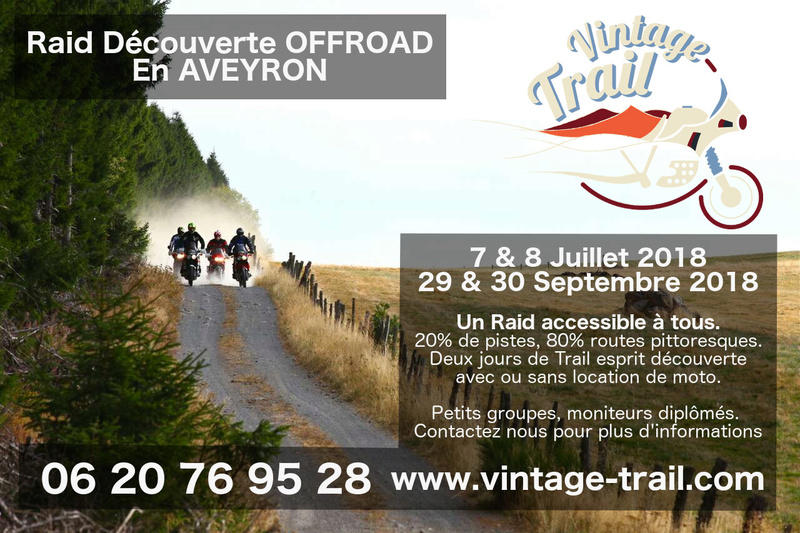 Air Globe / Vintage Trail, Perfectionnement OffRoad et Guide en Aveyron. Raiddy10