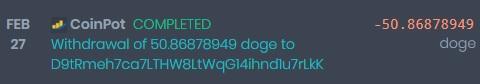 [Provado] Sites moon - receba vários pagamentos diários - Lucro de 297 Doges e 0.03 Litecoin Coinpo10