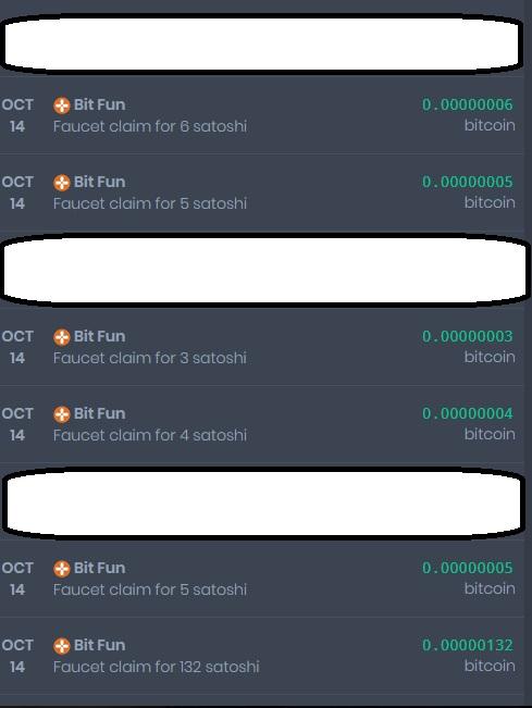 [Provado] Bitfun - receba vários pagamentos por dia, com dica para ganhar mais! Faucet13