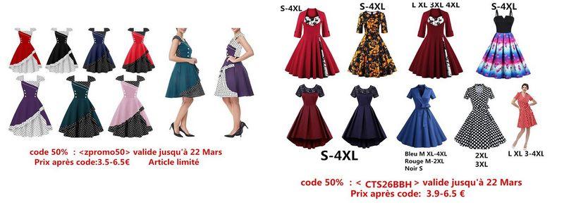 Des codes promos pour de jolies robes :) Zaful_11