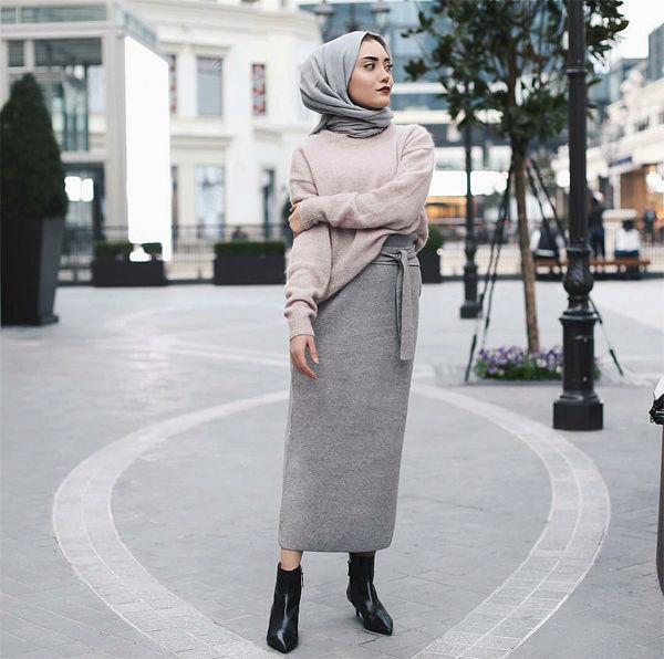 ملابس محجبات 2018 2611