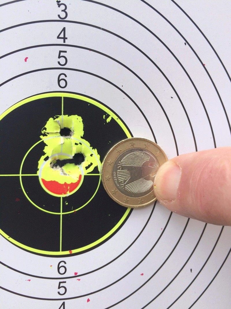 Pistolet weihrauch Hw44 5.5 H&N jsb 1.03g 25m en appui lunette hawke 4-9x32 1a340510