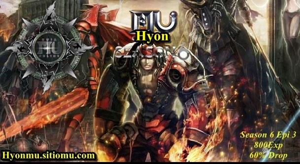 Mu-Hyon Season 6 Epi 3 [800exp - Drop 60% Hyon10