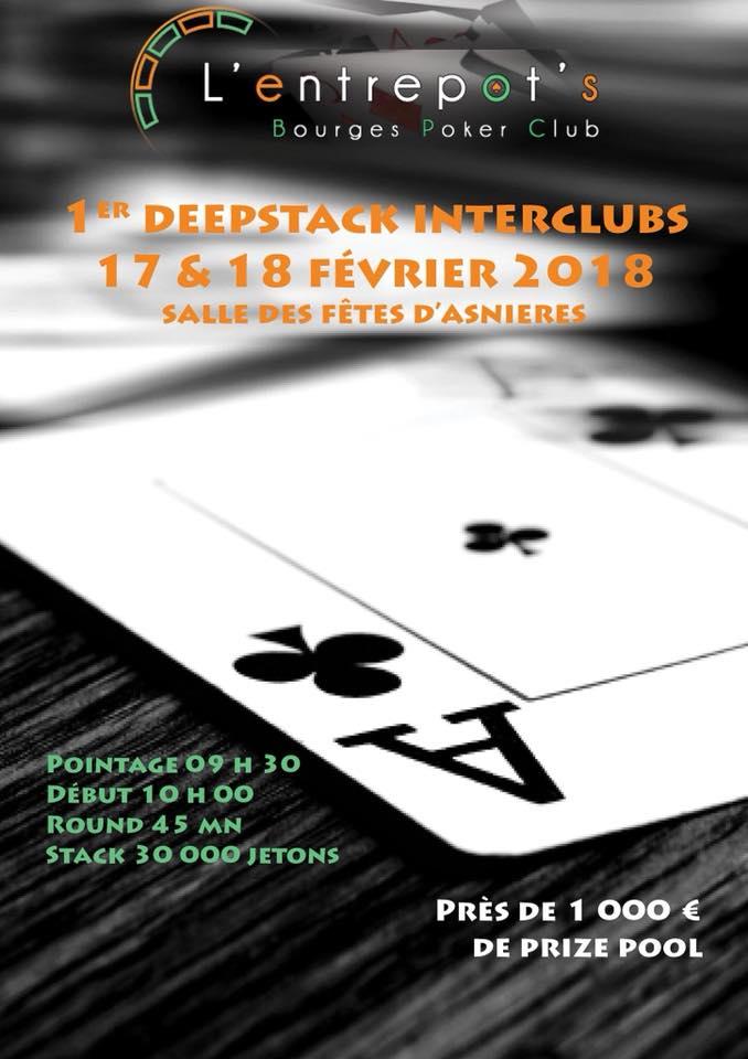 Deepstack 17 18 fevrier Bourges Poker Club Deepst13