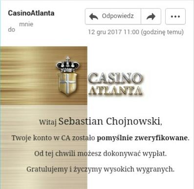 Casino Atlanta - Wypłaty i Weryfikacja - Page 2 Img_2028