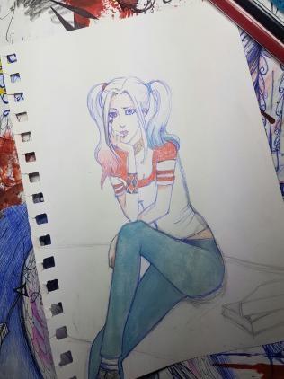 Les dessins - un peu hasardeux - d'Alexandriël 20171210