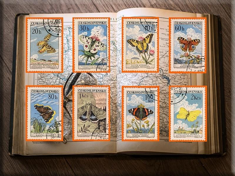 Briefmarken - Schmetterlinge und Libellen - Kleine bunte fliegende Juwele - Seite 2 Buch10