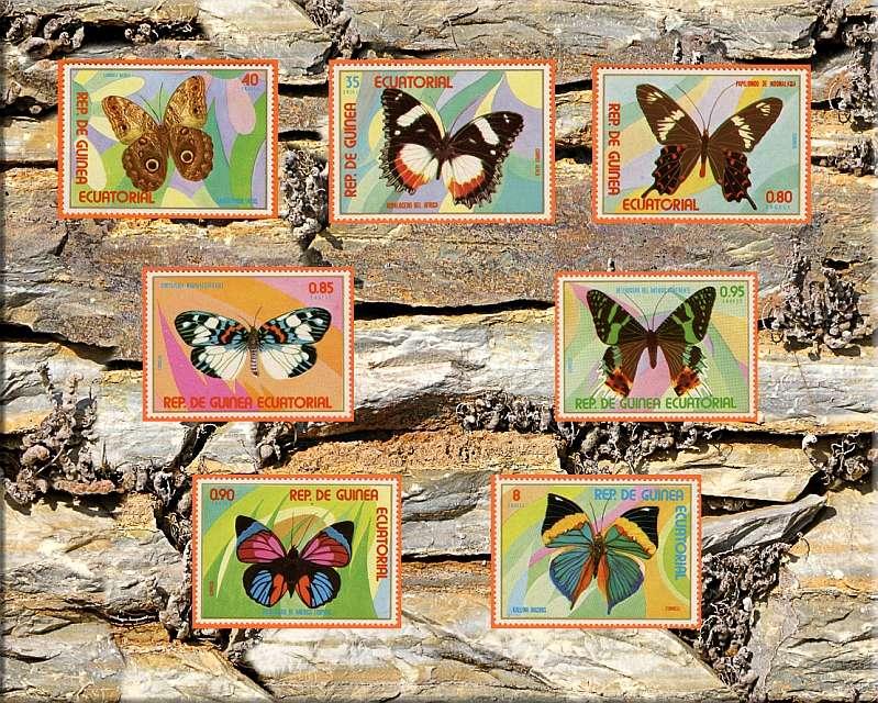 Briefmarken - Schmetterlinge und Libellen - Kleine bunte fliegende Juwele - Seite 2 Guinea10