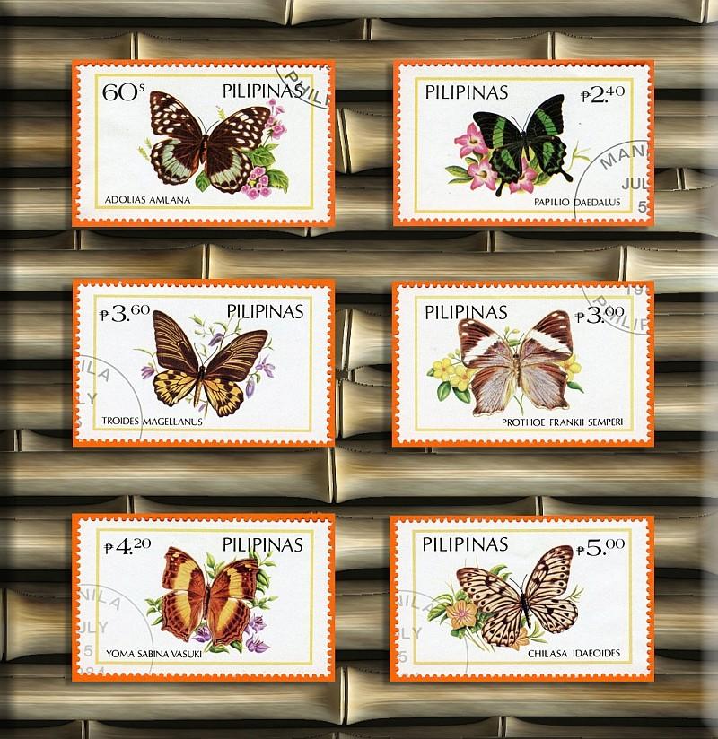 Briefmarken - Schmetterlinge und Libellen - Kleine bunte fliegende Juwele - Seite 2 Philip10
