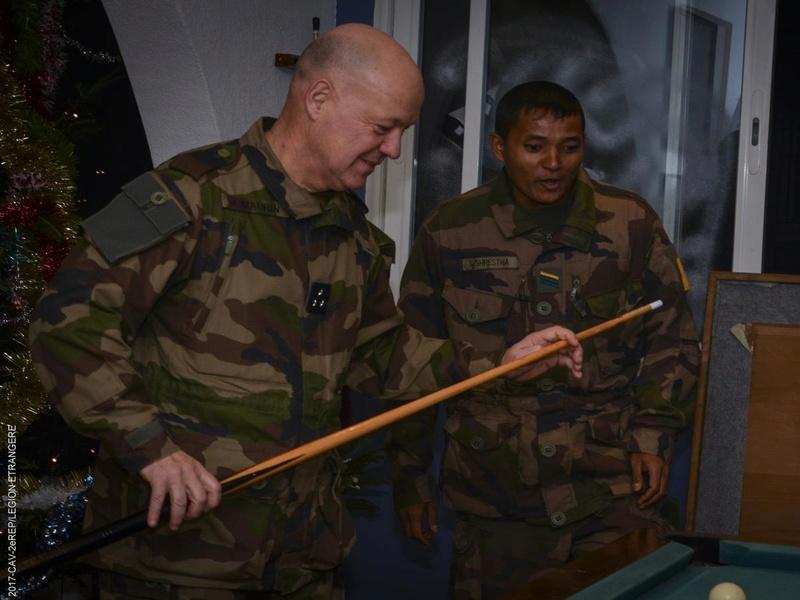 Visite du Père Légion au REP 373-2010