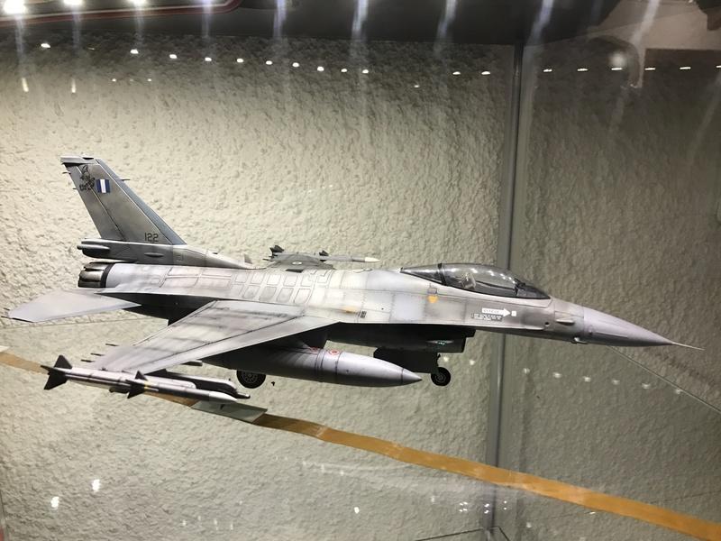 PROJECT AGGRESSOR F-16B  F-16C  F-16C 2017-013