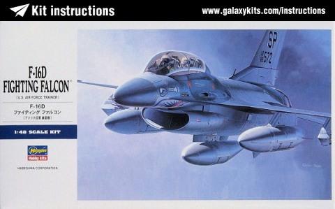 PROJECT AGGRESSOR F-16B  F-16C  F-16C Hasega10