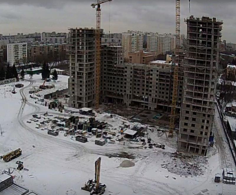 """Веб-камеры на площадке строительства ЖК """"Нормандия"""" 6_1210"""