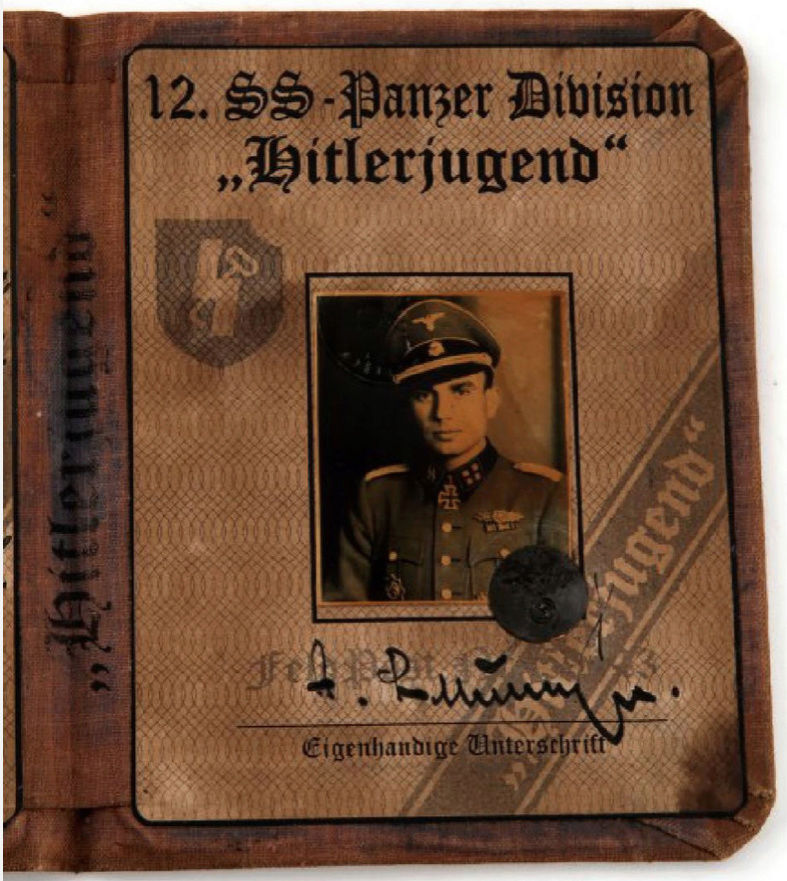 FAUSSE WAFFEN SS IS CARD Captur65