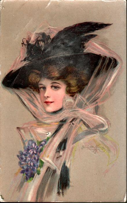 """Des élégantes  """"chapeautées"""" ... - Page 22 02c9c810"""