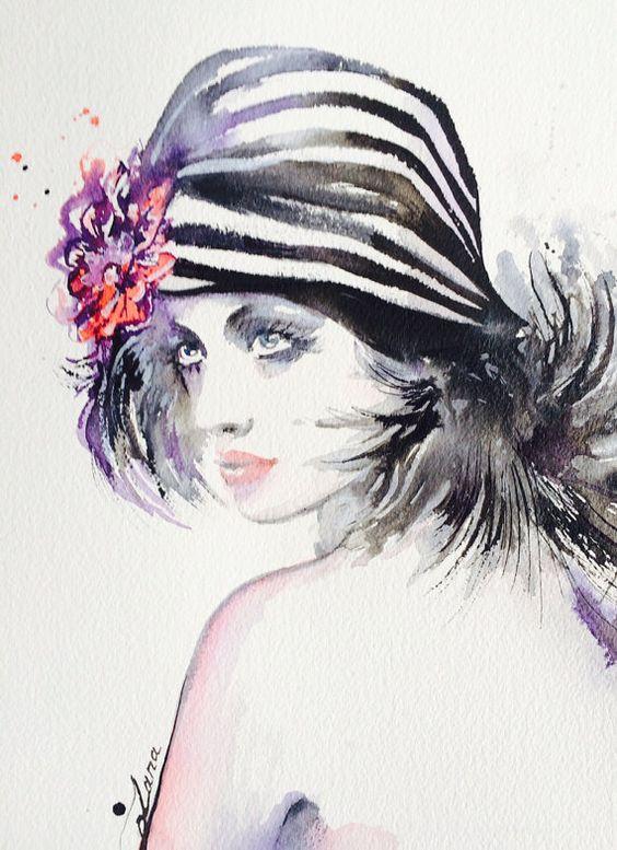 """Des élégantes  """"chapeautées"""" ... - Page 24 03aef910"""