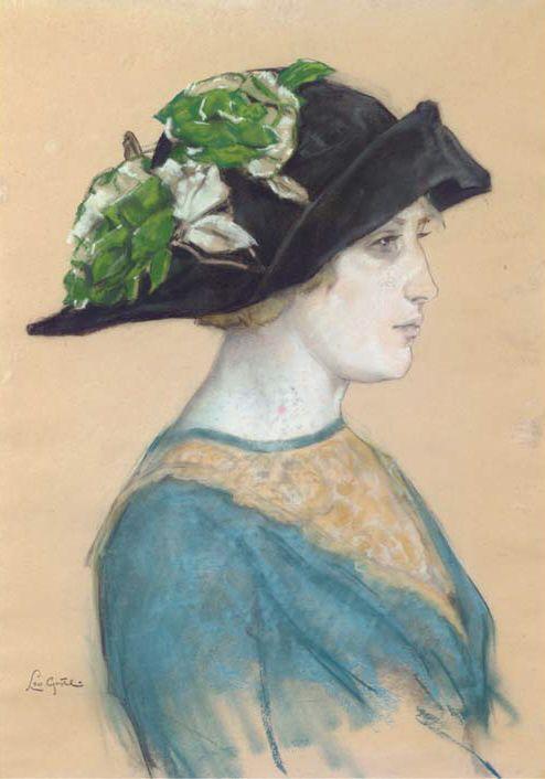 """Des élégantes  """"chapeautées"""" ... - Page 23 0574ec10"""