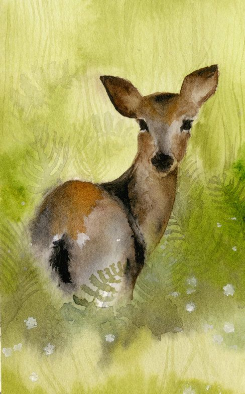 Les animaux peints à l'AQUARELLE - Page 11 0a70b110