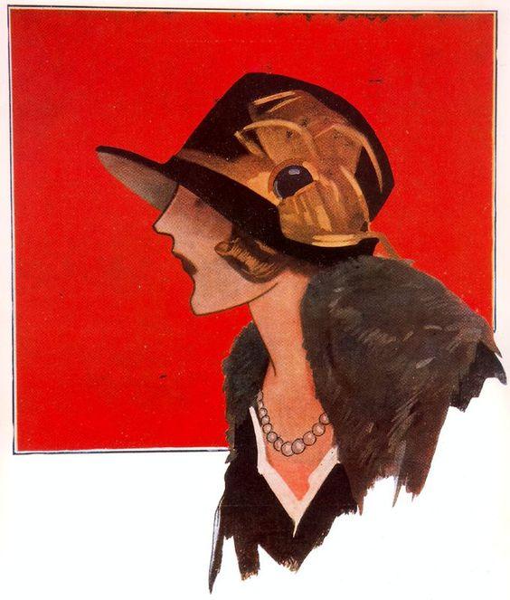 """Des élégantes  """"chapeautées"""" ... - Page 22 0afa0410"""