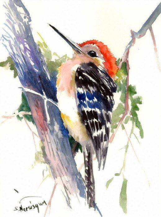 Les animaux peints à l'AQUARELLE - Page 10 0d2c8610