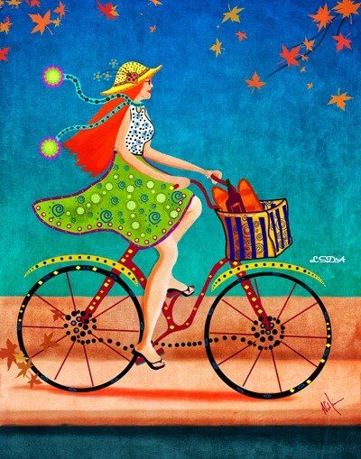 A bicyclette ... 17d1fc10